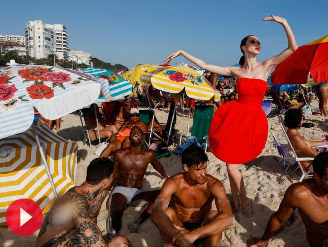 De viaje con Jean Paul Gaultier por Río de Janeiro