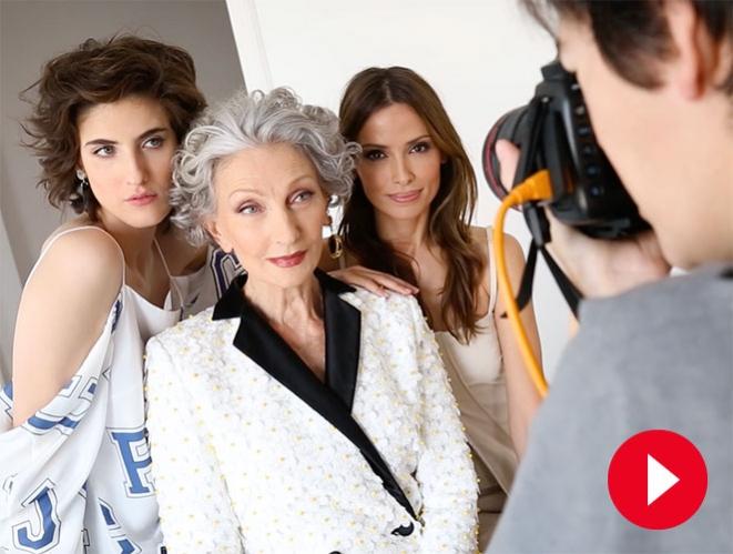 Reunimos a tres generaciones de modelos con voz propia