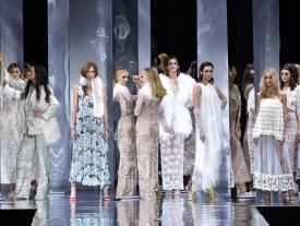 Duyos sube a la pasarela un 'dream team' de modelos españolas