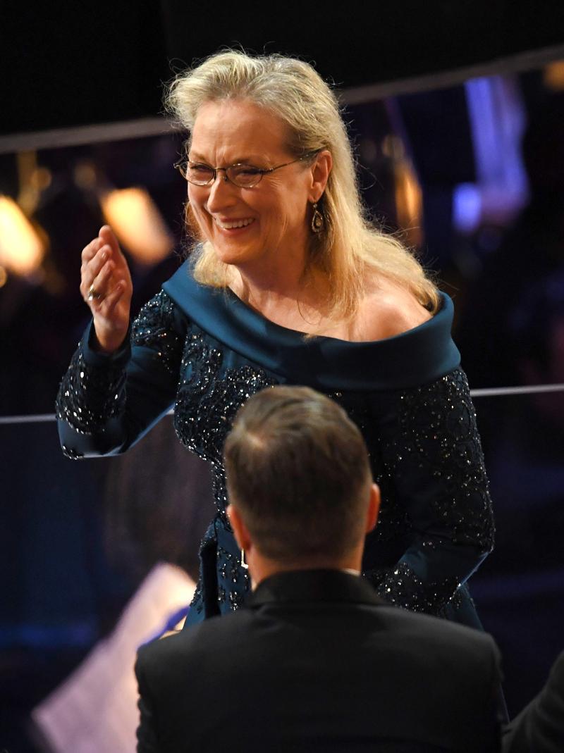 """Oscars 2017: """"Bonito vestido, Meryl, ¿es un Ivanka?"""""""