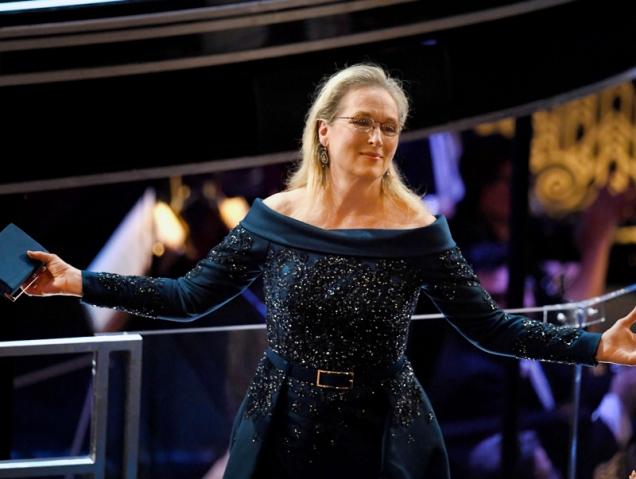 Meryl Streep Oscar 2017