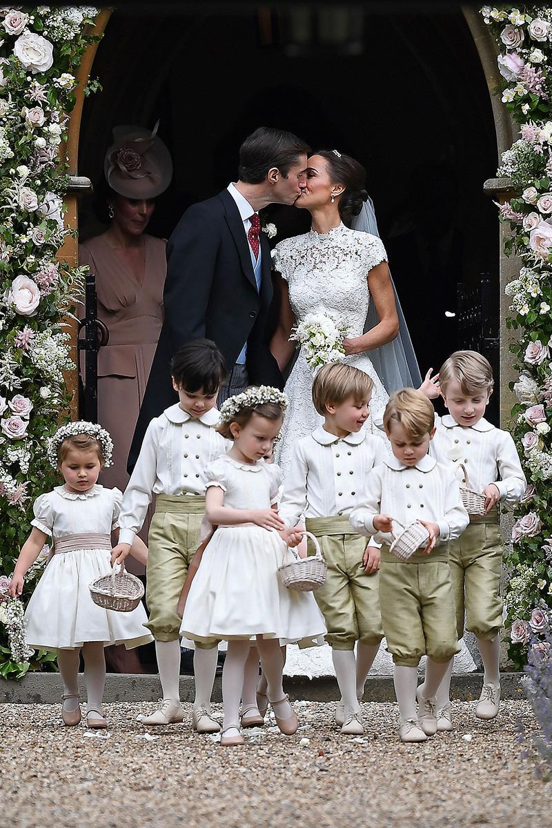 Pippa Middleton vestido de novia
