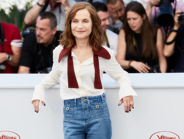 Isabelle Huppert en Cannes