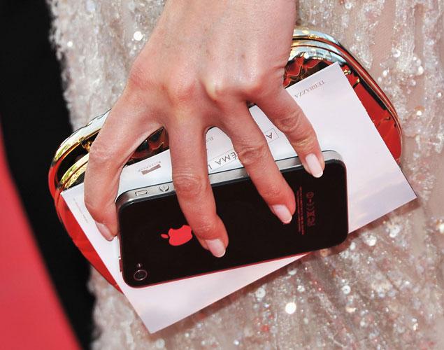 Un iPhone en la alfombra roja