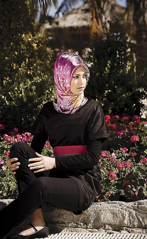 Pañuelo moda árabe