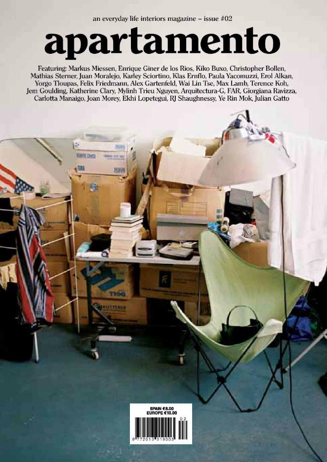 desorden apartamento