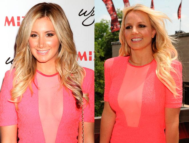 Britney Spears y Ashley Tisdale