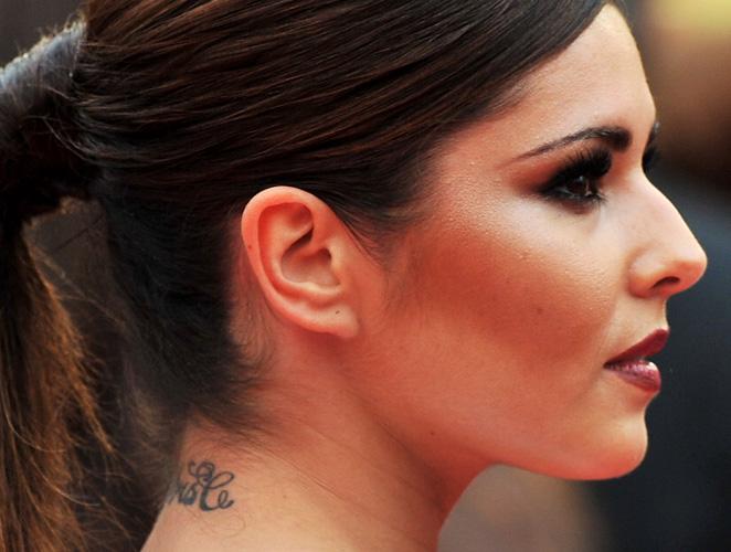Cheryl Cole tatuaje