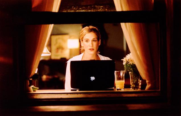 Sarah Jessica Parker ordenador