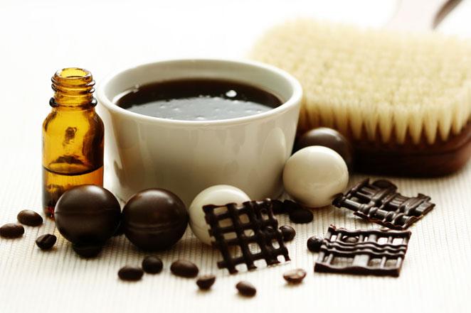 Masajes chocolate
