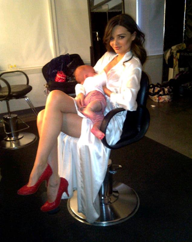 modelos tras embarazo