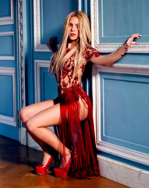 dentro Shakira