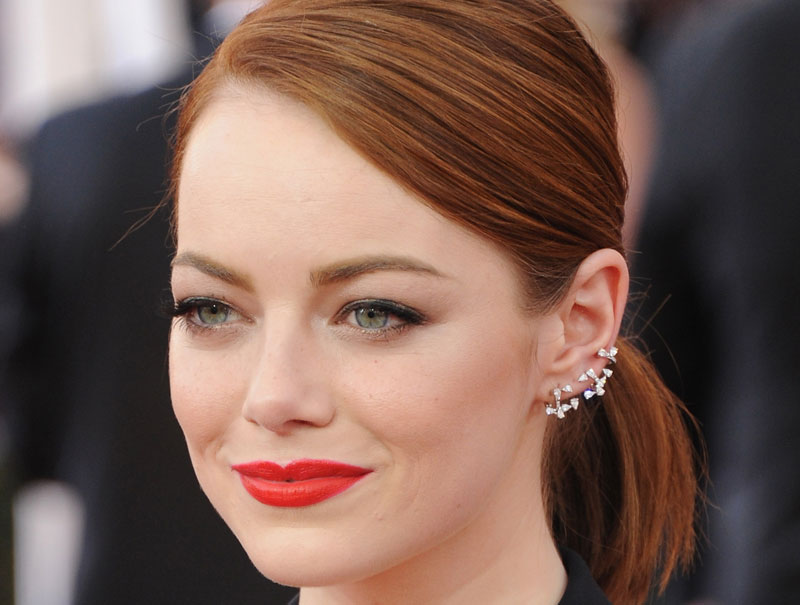 tendencia pendientes ear cuff celebrities