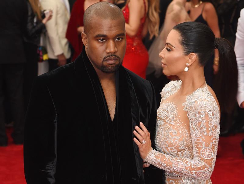 Kanye West triste gala MET 2015