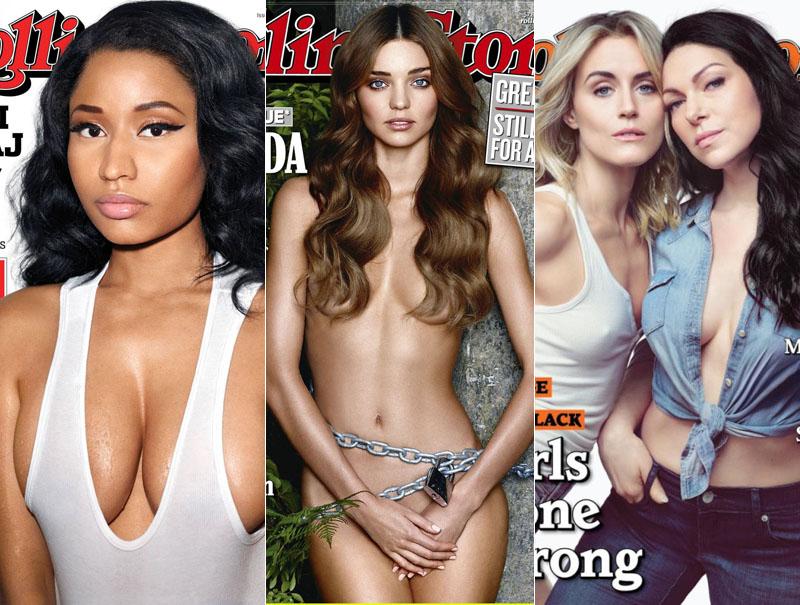 mujeres portada revista rolling stone