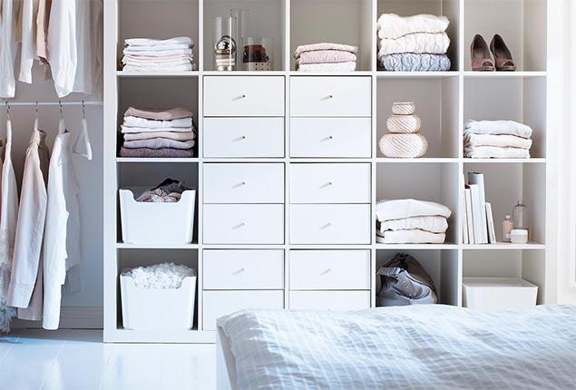 Elimina el caos en el armario y dormir s mejor s moda el - Armarios almacenaje ikea ...